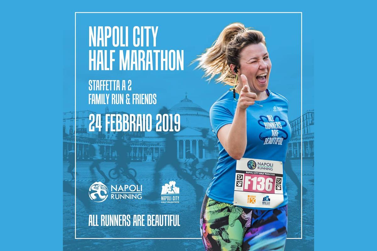 """Alla Napoli City Half Marathon il battesimo della """"Pizza2Run"""""""