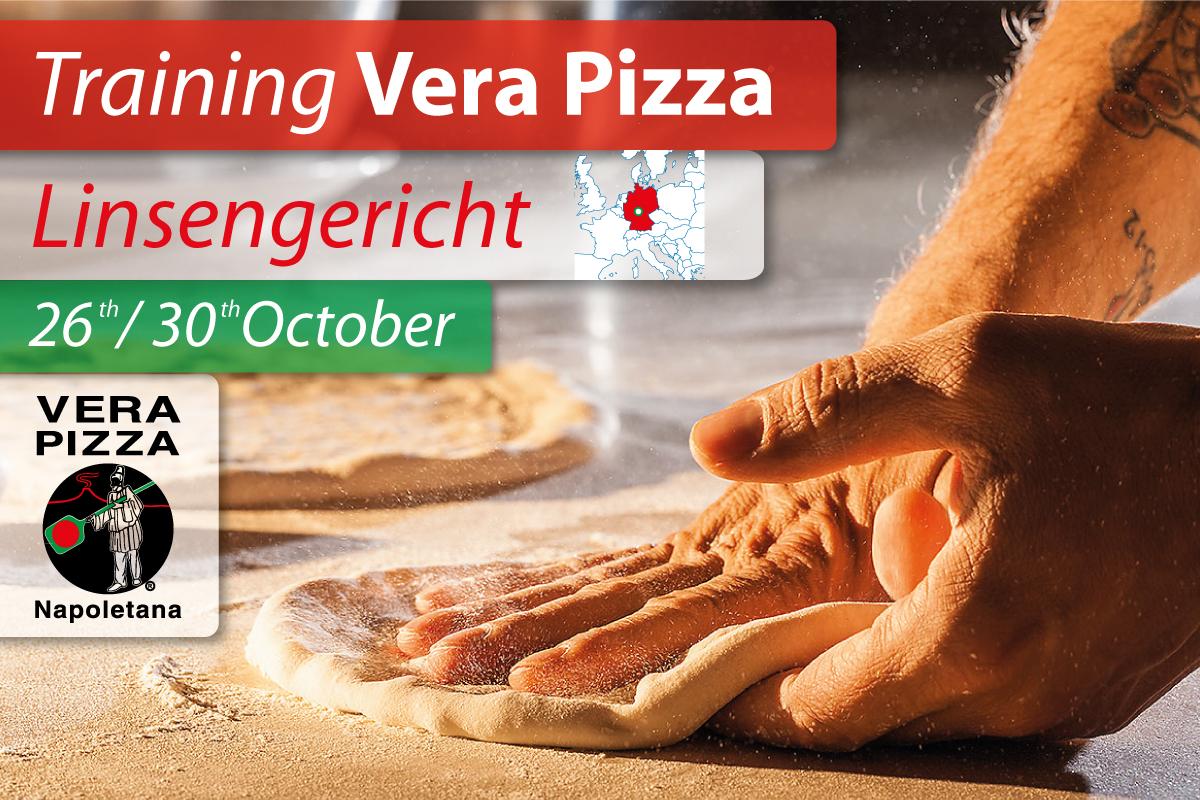 In Germania, dal 26 al 30 ottobre, l'AVPN terrà il primo corso ufficiale di Vera Pizza Napoletana