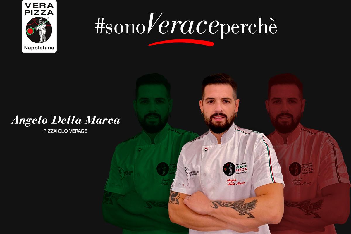 """#SonoVeracePerché: oggi raccontiamo la storia verace di Angelo Della Marca di """"O'Pacchianiell pizza&food"""""""
