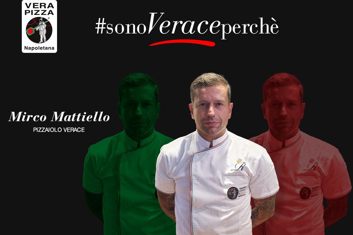 #SonoVeracePerché: oggi raccontiamo la storia di Mirco Mattiello, pizzaiolo verace affiliato con Ristorante Reginella