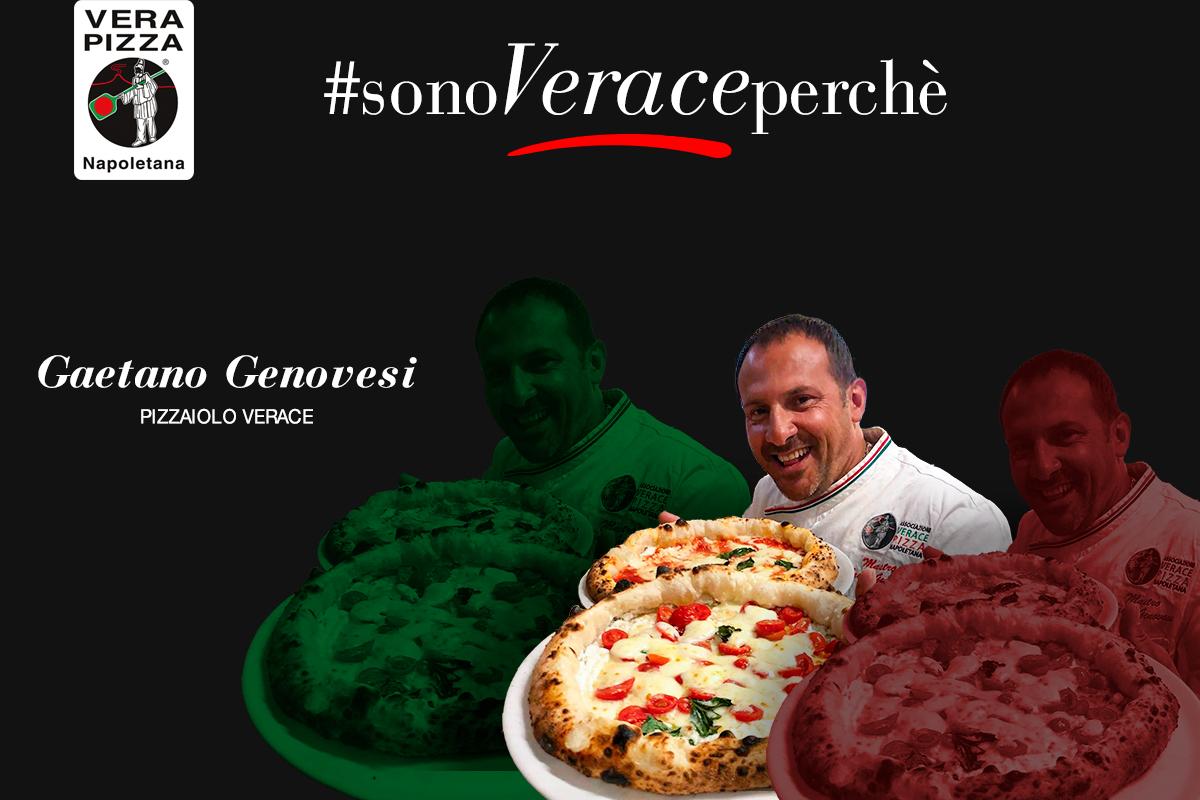 #SonoVeracePerché: oggi raccontiamo la storia di Gaetano Genovesi, pizzaiolo Verace