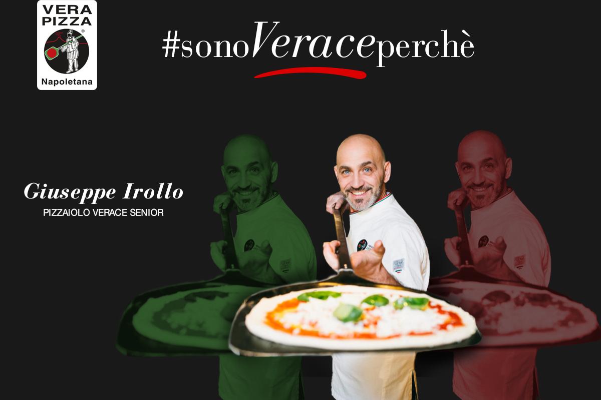 #SonoVeracePerchè: oggi raccontiamo la storia di Giuseppe Irollo, Pizzaiolo Verace Senior a Kiev presso la pizzeria Napule'