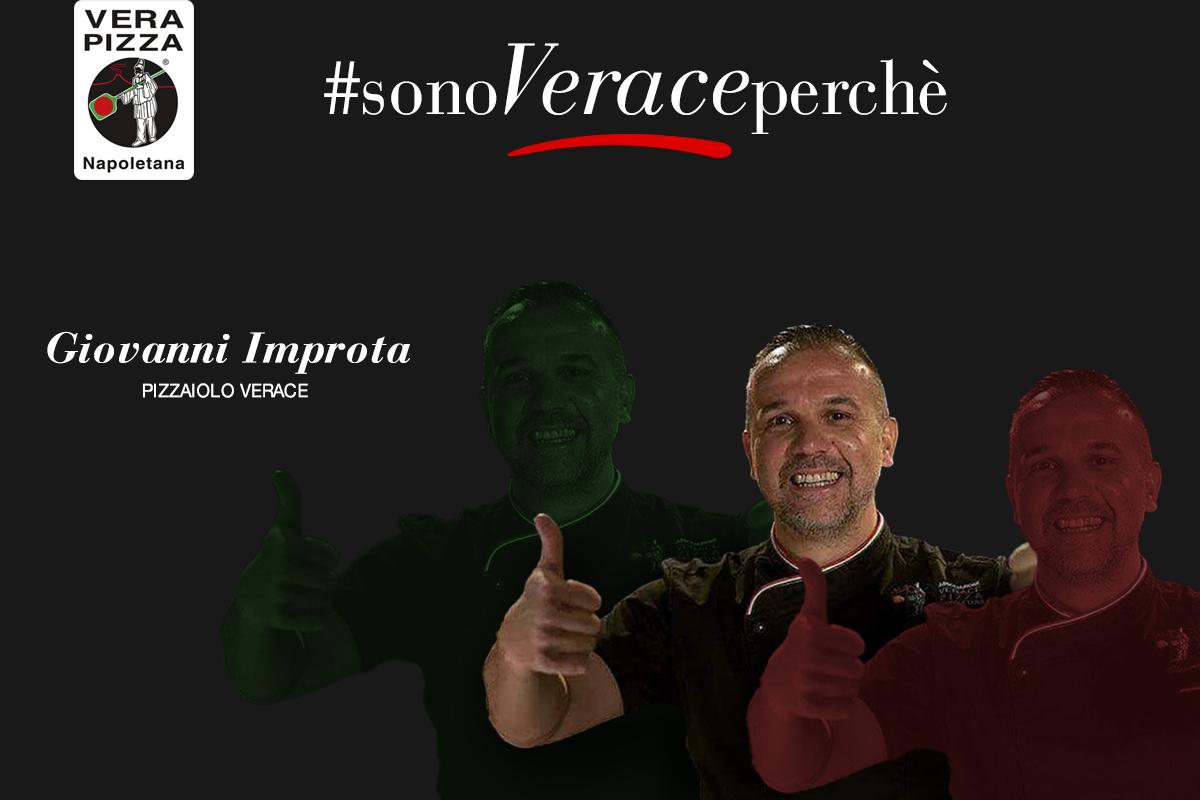 #SonoVeracePerché: oggi raccontiamo la storia di Giovanni Improta della Pizzeria & Trattoria al 22
