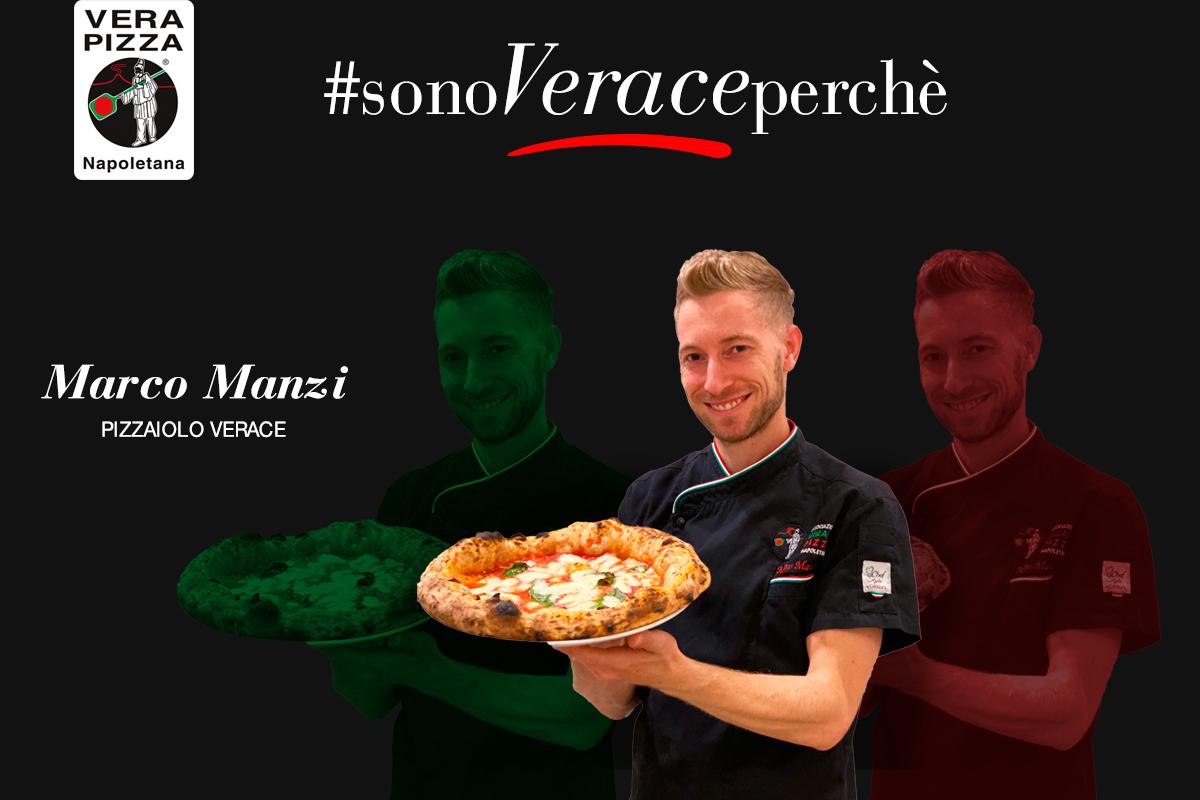 #SonoVeracePerché: oggi raccontiamo la storia di Marco Manzi di Giotto Pizzeria-Bistrot