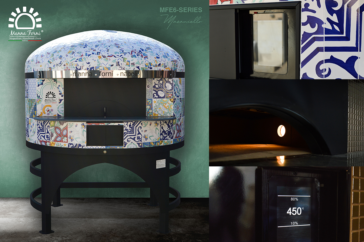 """""""MFE6 - Masaniello"""" di Manna Forni è il nuovo forno elettrico professionale approvato dall'Associazione Verace Pizza Napoletana."""