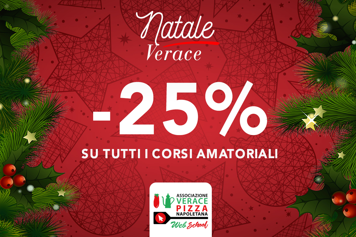 This Christmas, give an experience and choose a gift voucher of the True Neapolitan Pizza Association