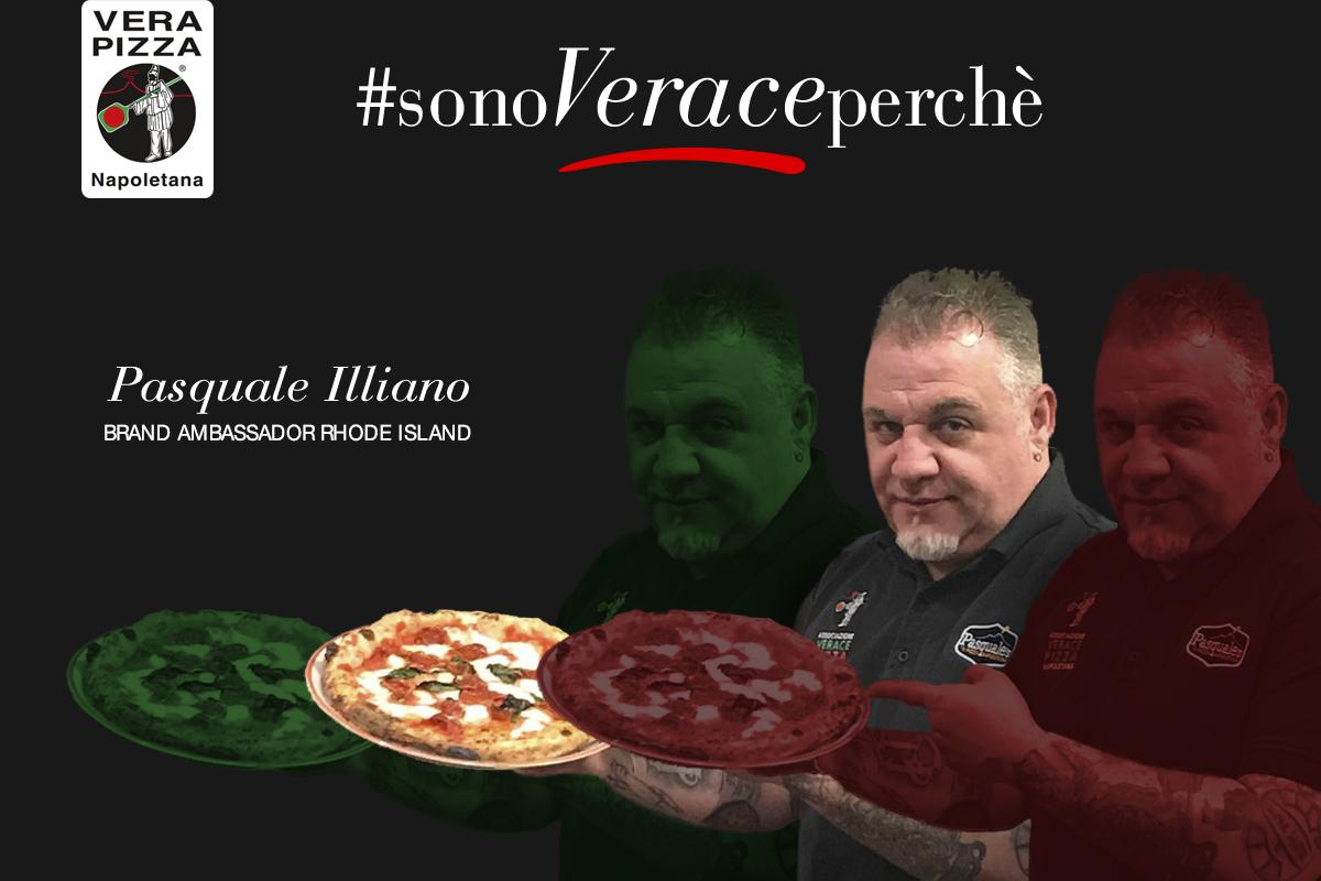 #SonoVeracePerché: oggi raccontiamo la storia di Pasquale Illiano, pizzaiolo verace negli USA