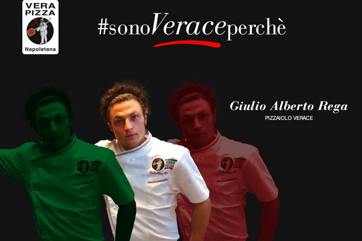 #SonoVeracePerché: oggi raccontiamo la storia di Giulio Alberto Rega, pizzaiolo verace Pizzeria Lucia.