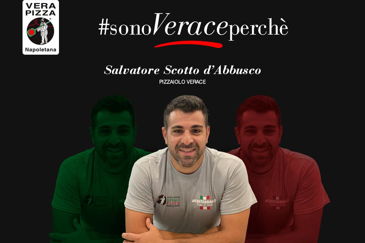 #SonoVeracePerché: oggi raccontiamo la storia di Salvatore Scotto d'Abbusco, pizzaiolo verace affiliato con Mediterraneo Pizza & Grill Clemmons