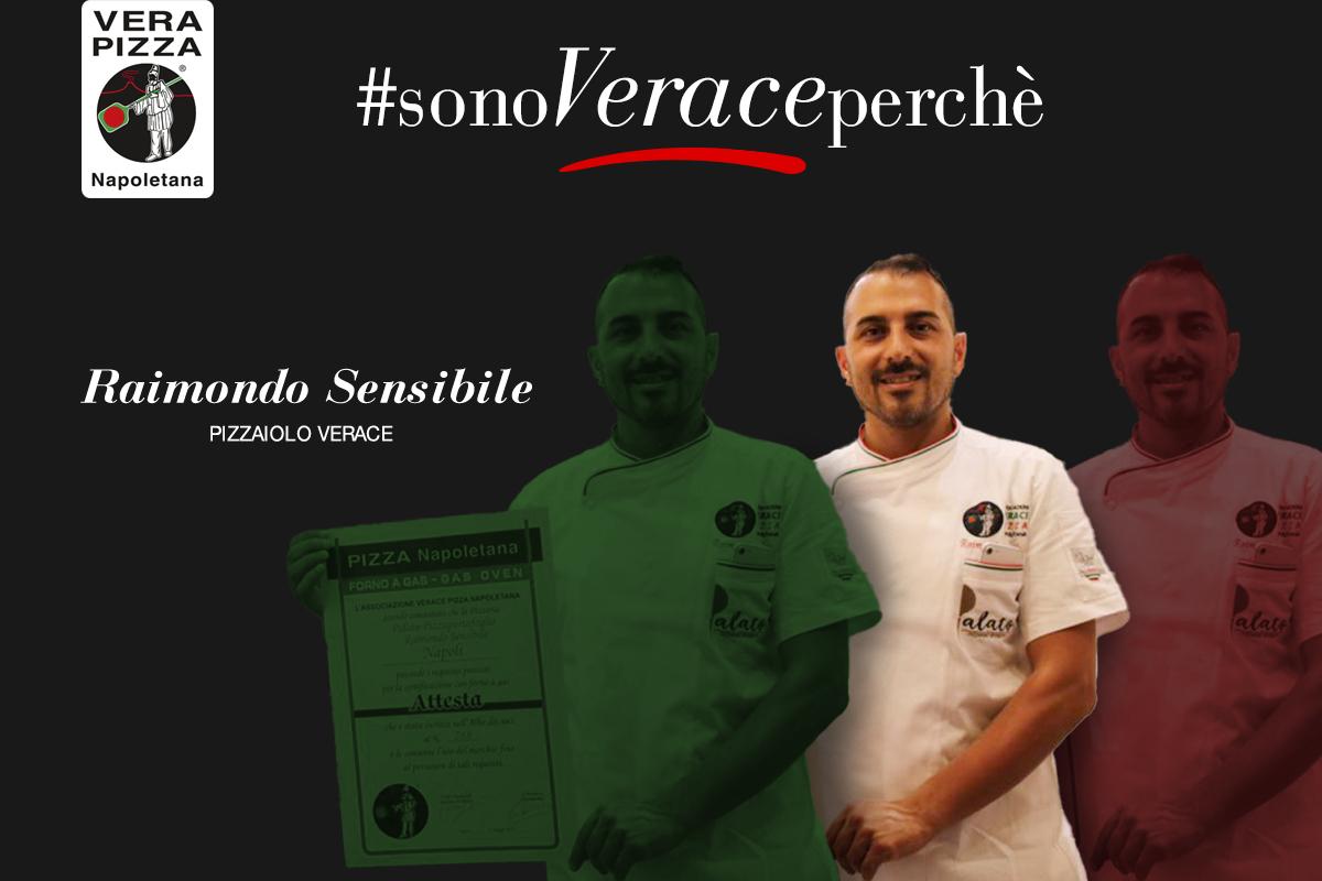 #SonoVeracePerché: oggi raccontiamo la storia di Raimondo Sensibile, pizzaiolo verace della pizzeria Palato