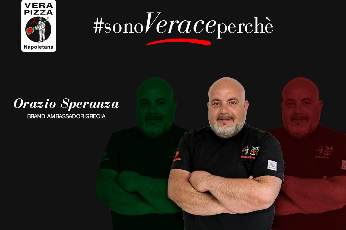#SonoVeracePerché: oggi vi raccontiamo la storia di Orazio Speranza, Brand Ambassador Grecia