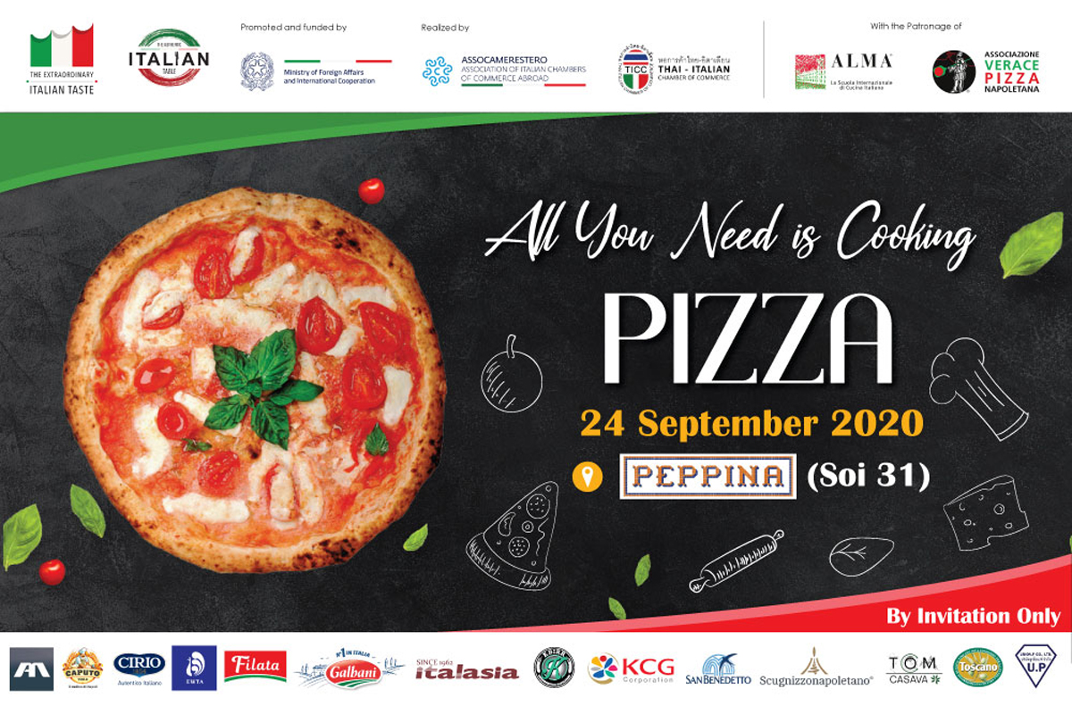 All you need is cooking..... pizza! A masterclass learning how to prepare and cook authentic Neapolitan Pizza