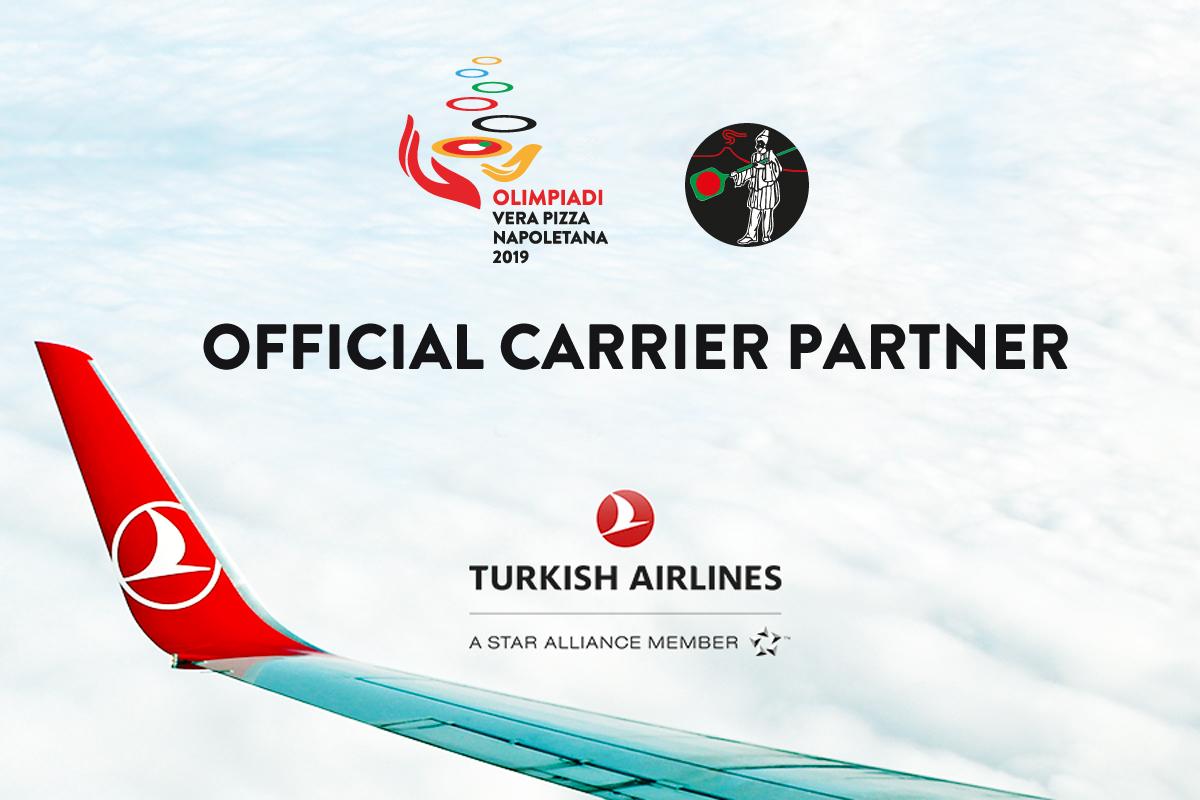 Vola alle Olimpiadi di Napoli con Turkish Airlines, partner ufficiale AVPN!