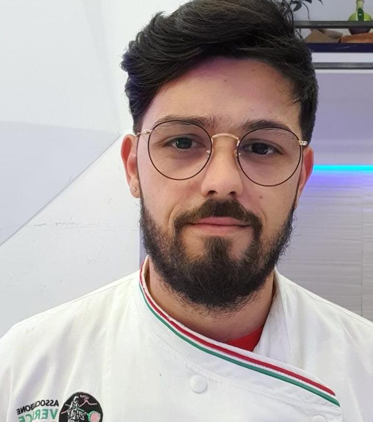 Pizzaiolo associato: Valerio Vuolo