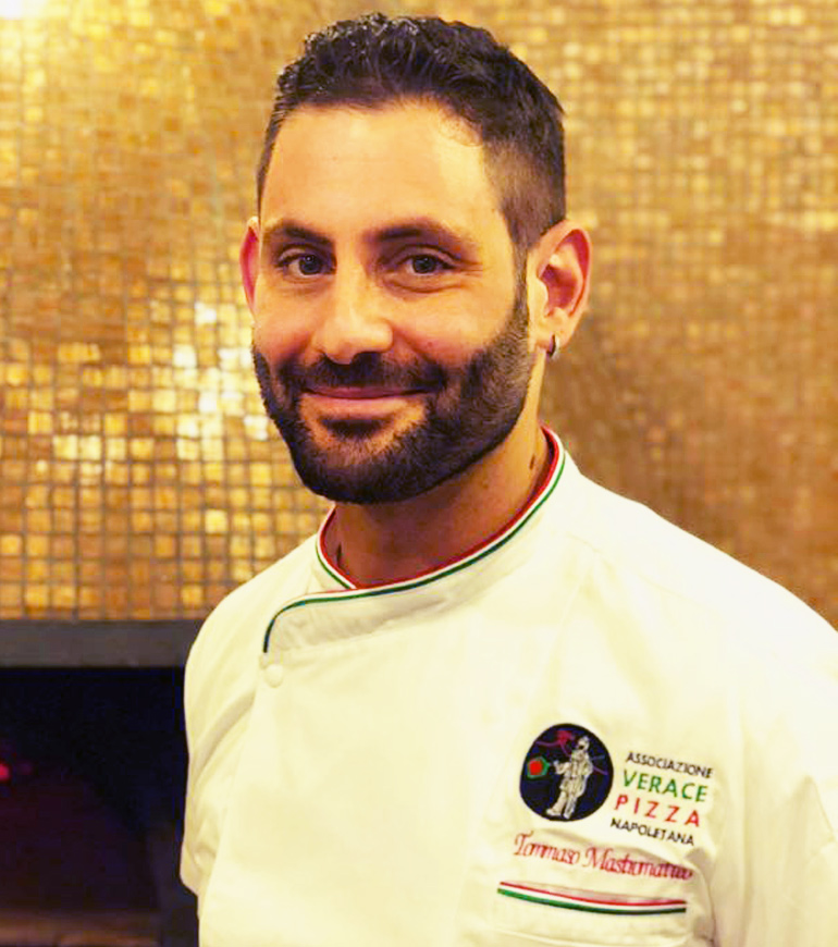 Pizzaiolo associato: Tommaso Mastromatteo