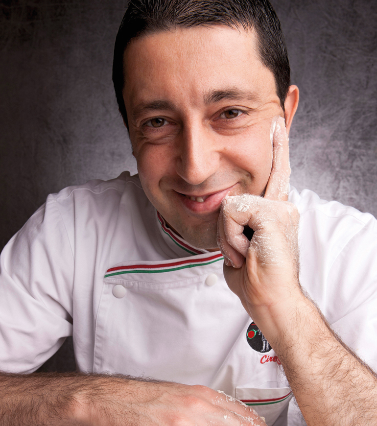 Pizzaiolo associato: Ciro Salvo