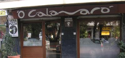 Pizzeria: O' Calamaro