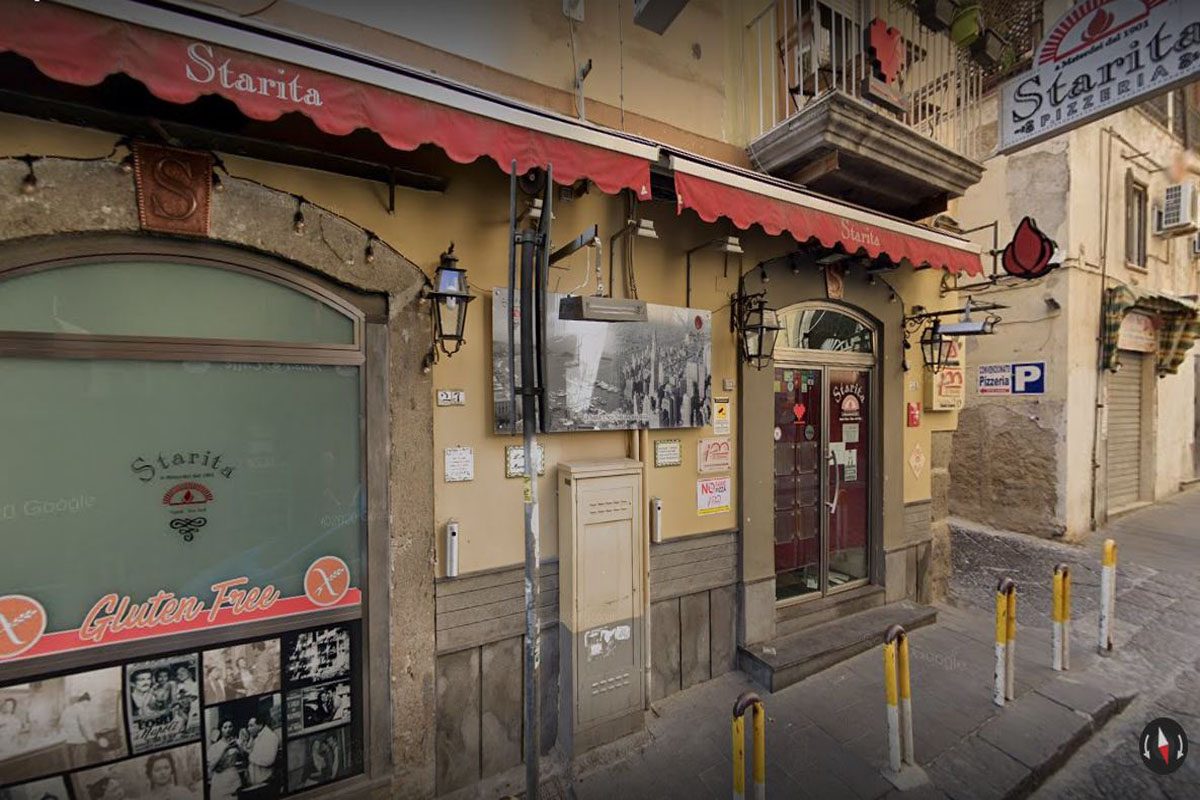 Pizzeria: Starita a Materdei