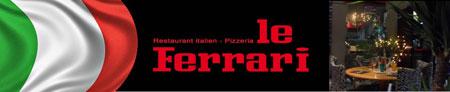Pizzeria: Le Ferrari
