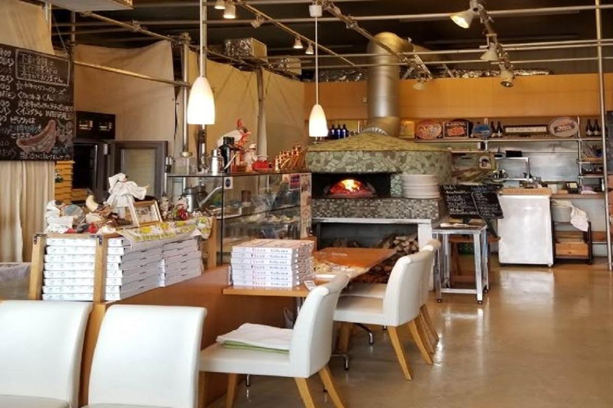 Pizzeria: Magazzino