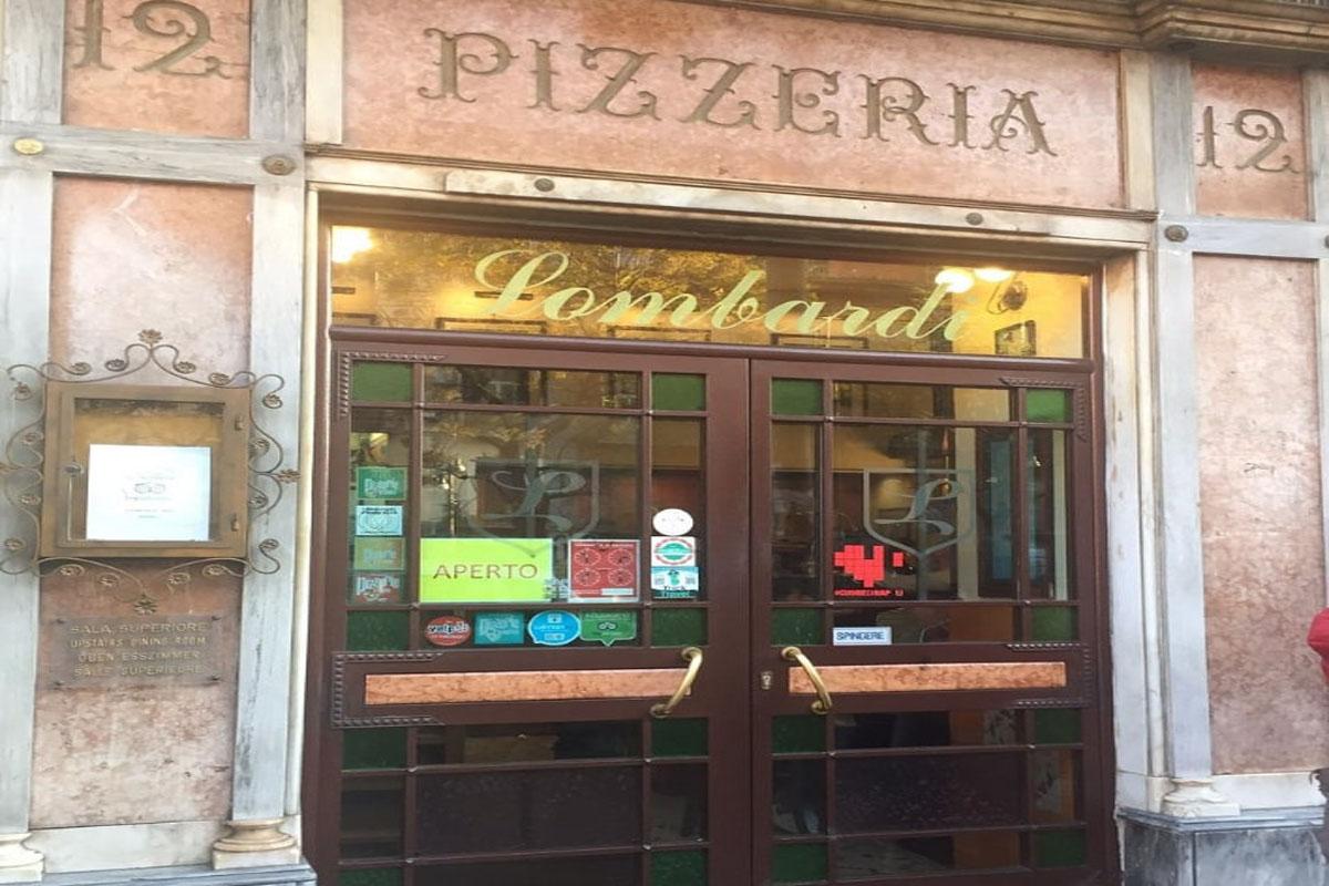 Pizzeria: Lombardi a Foria