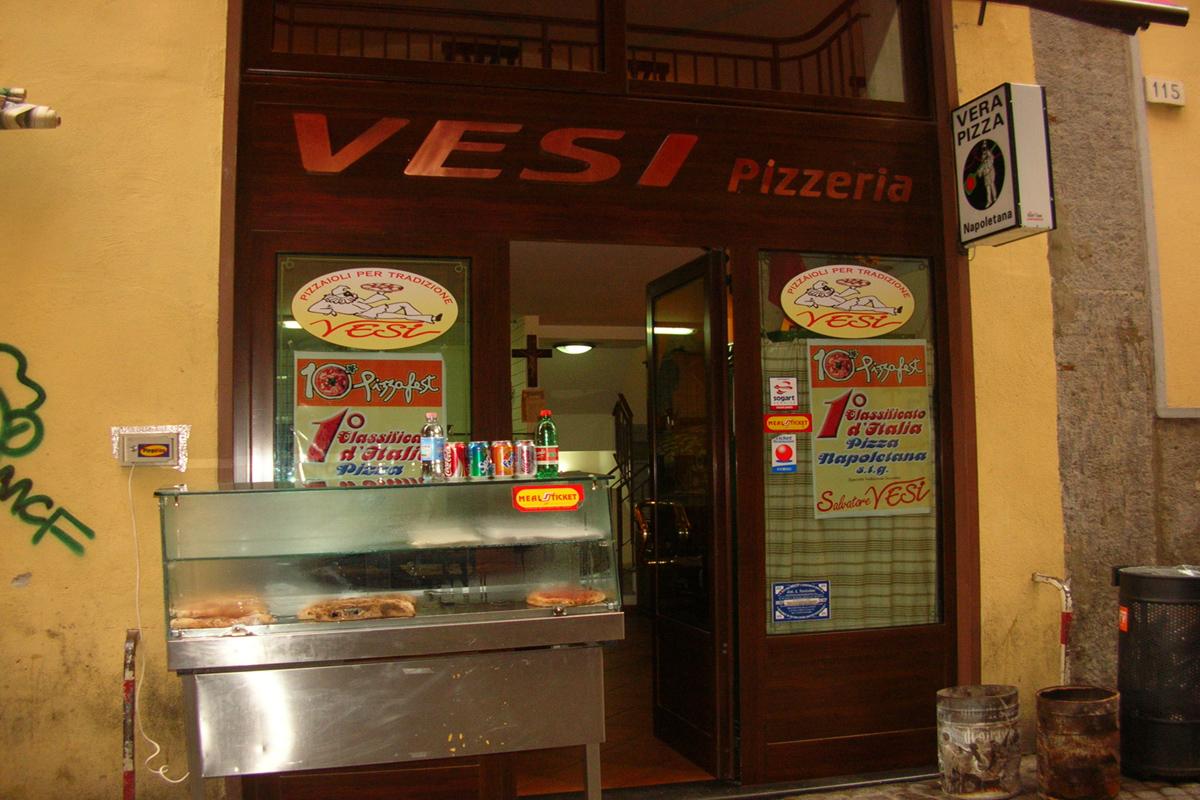 Pizzeria: Vesi