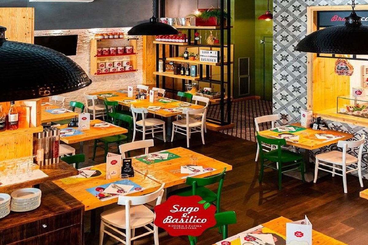 Pizzeria: Sugo e Basilico