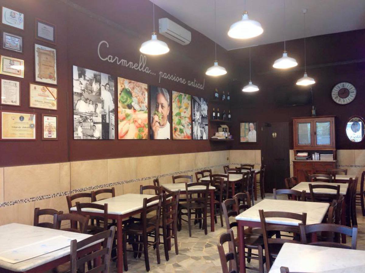 Pizzeria: Carmnella