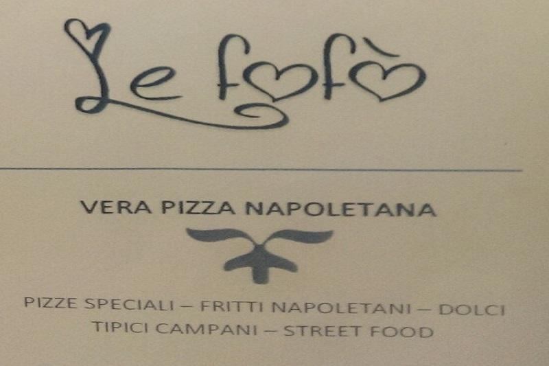 Pizzeria: Le Fofò pizzeria bistrot napoletano