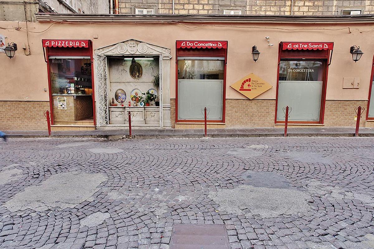Pizzeria: Pizzeria Oliva da Concettina ai Tre Santi