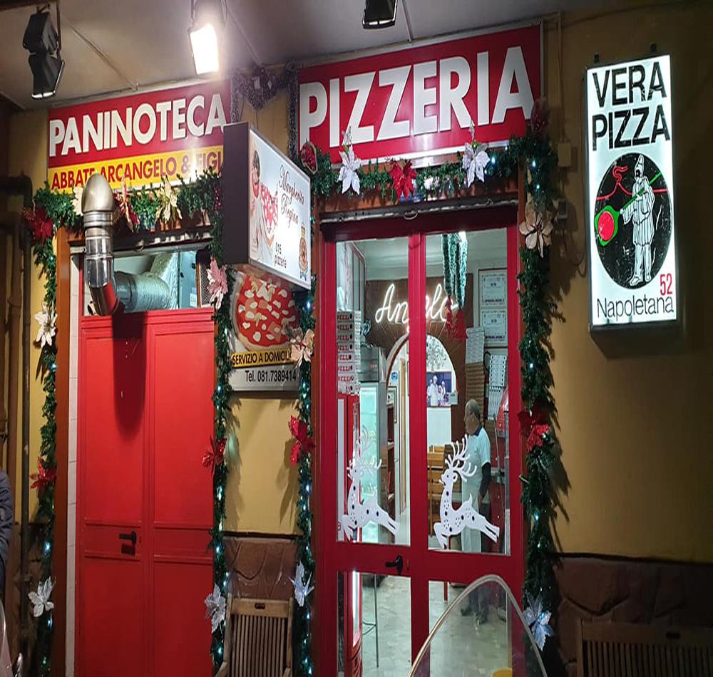 Pizzeria: Pizzeria Arcangelo Abbate
