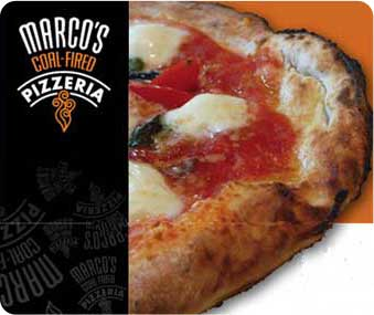 Pizzeria: Marco's Coal-Fired Pizza