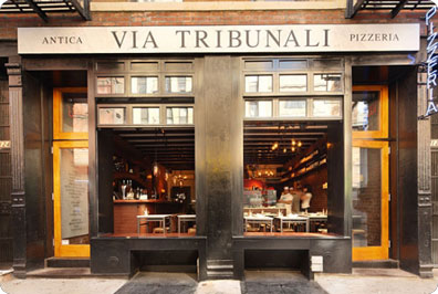Pizzeria: Via Tribunali NYC