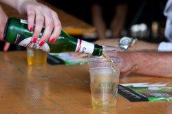 Birra DAB, laboratorio a p.zza Dante Pizzafestival 2014