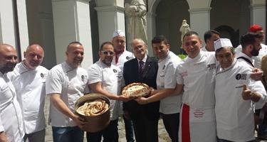 Pizza in prima fila per difendere la Dieta Mediterranea dell'Unesco