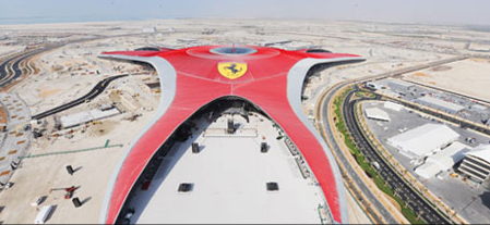 Ferrari World Abu Dhabi opening - Verace pizza napoletana certification