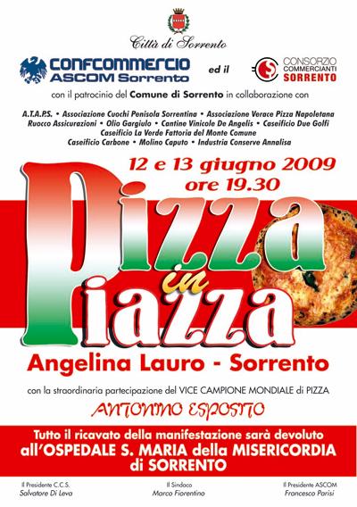 PizzainPiazza a Sorrento: 12 e 13 giugno