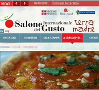 Waiting for ' Salone del Gusto' in Torino...