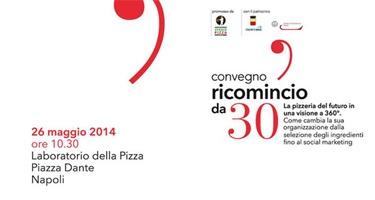 Convegno Ricomincio da 30, lunedì ore 10:30 P.zza Dante-Napoli