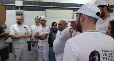 The AVPN export the know- how on the true pizza in the world-the trainings for pizza makers highly d