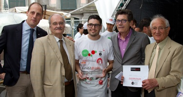 Tra i pizzaioli emergenti vince Guidon, dal Brasile
