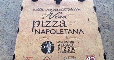 The members of AVPN in Lombardy gained our plaudits for the new pizza box