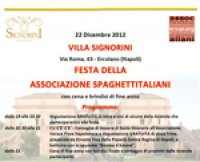 AVPN socio onorario dell'Associazione Spaghettitaliani. La festa ad Ercolano
