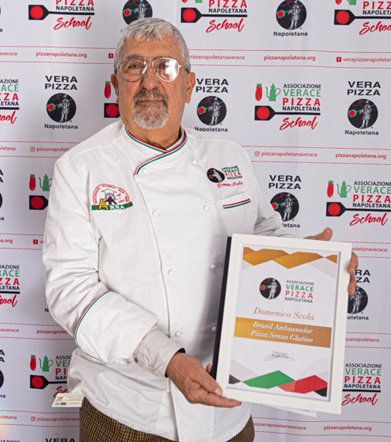 Brand Ambassador AVPN - Pizza senza glutine - Domenico Scola