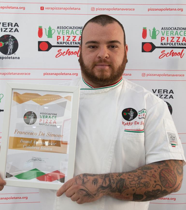 Brand Ambassador AVPN - Calabria Ionica - Francesco De Simone