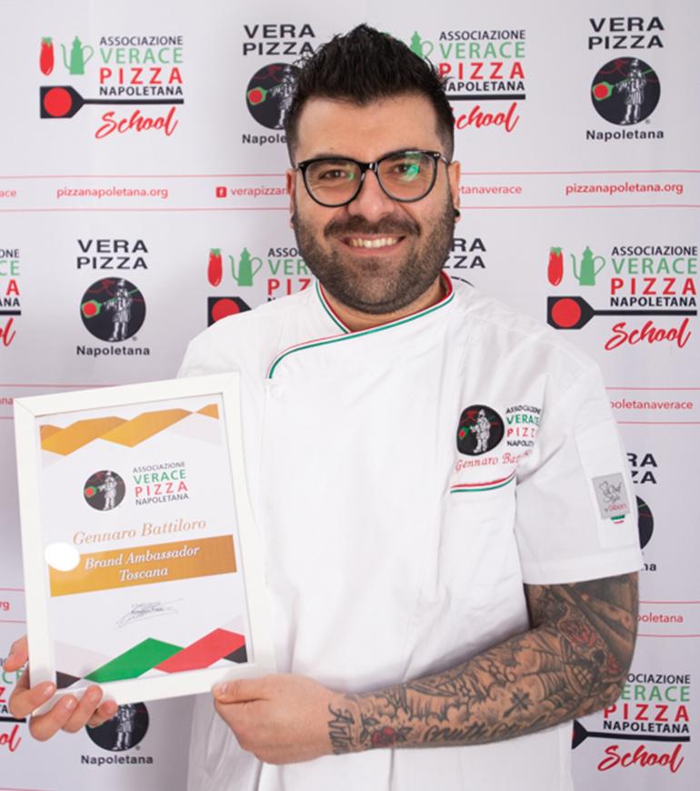 Brand Ambassador AVPN - Toscana - Gennaro Battiloro